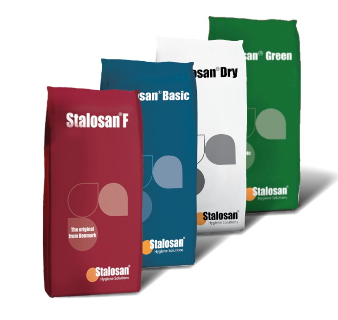 New in our range... Stalosan hygiene powder products